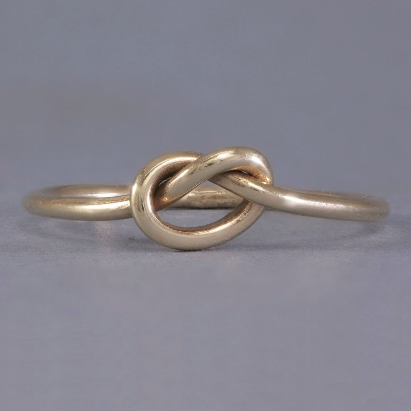 Tying The Knot Ring Solid Gold Knot Rings Promise Rings