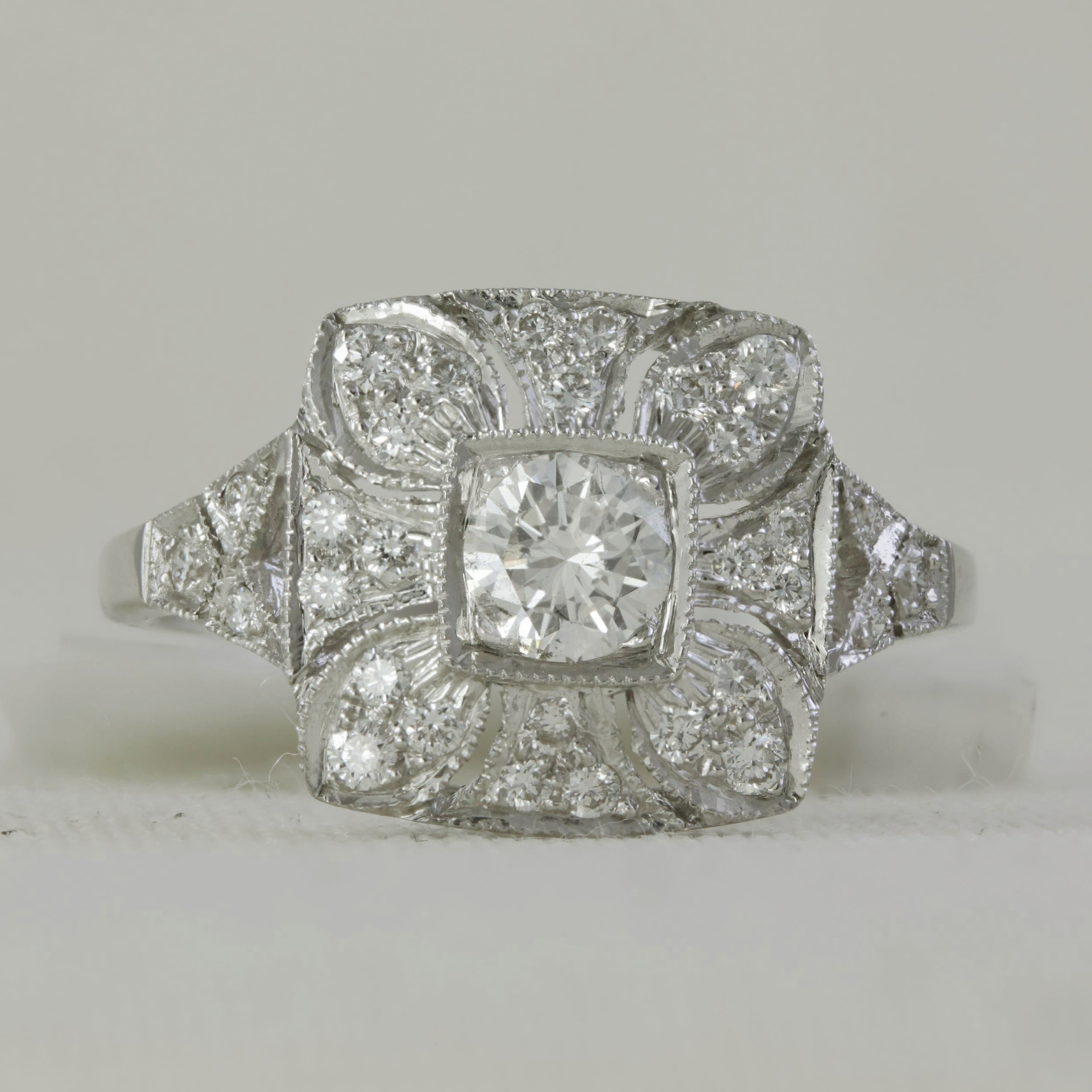 Antique Style Diamond Ring Wedding Amp Engagement Rings Dublin