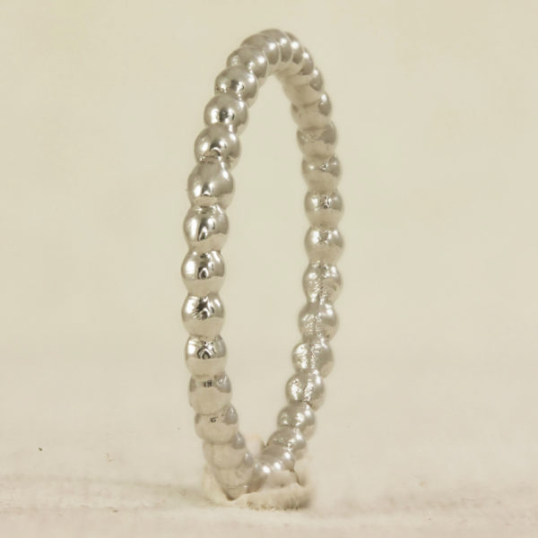 bead effect stacking ring