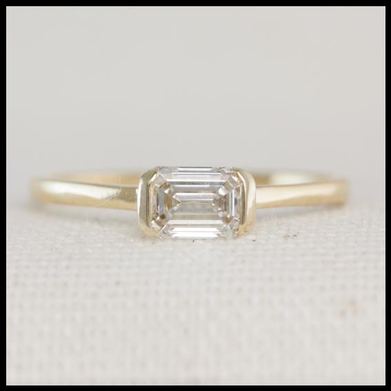 Minimalist Engagement Ring | Custom Made Engagement Rings Dublin