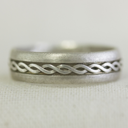 trinity wedding celtic ring aislinn silver knot unisex ltd oxidized rings