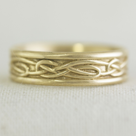 Gold Celtic Ring