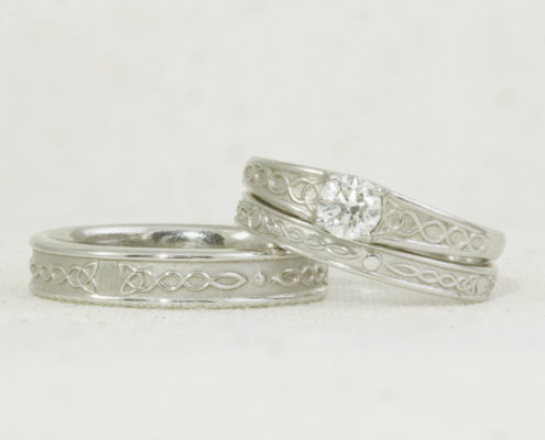 Celtic wedding set
