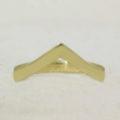 gold wishbone ring