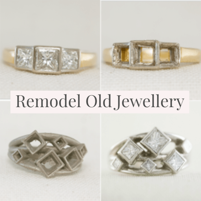 remodel old jewellery