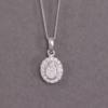 oval diamond cluster